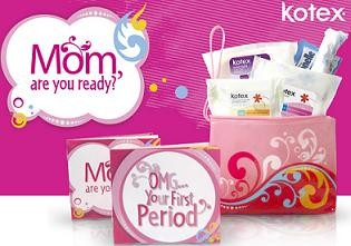 FREE Kotex First Period Kit Thumbnail