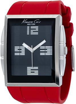 kenneth-cole-mens-watch_red