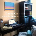 Latina Blogger Office | Latina On a Mission