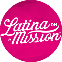 Latina On a Mission Logo