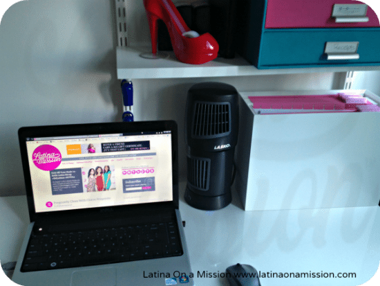 Lasko Home Office | Latina On a Mission