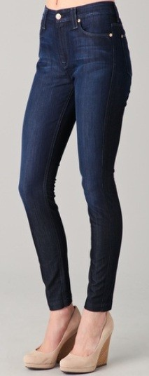 7 For All Mankind High Waisted Skinny Jeans | Latina On a Mission