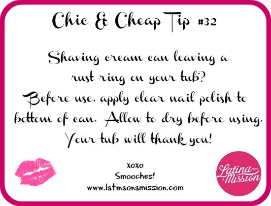 Chic & Cheap Tip #32 Thumbnail
