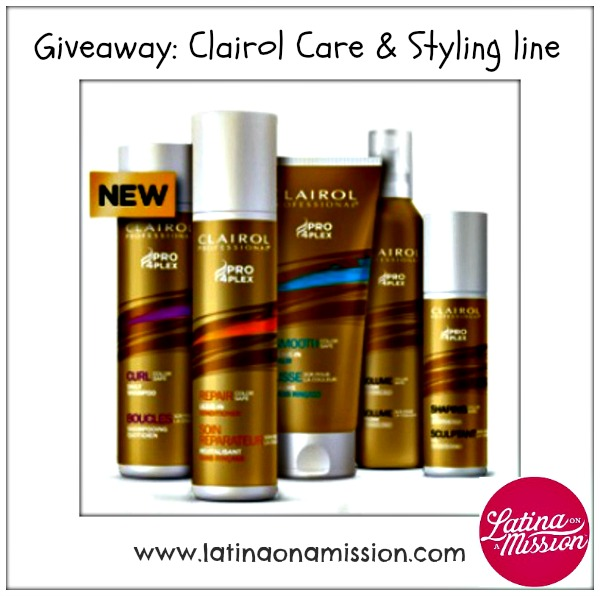 Clairol Professional Pro 4Plex Hair Care & Styling Line (#Giveaway) Thumbnail