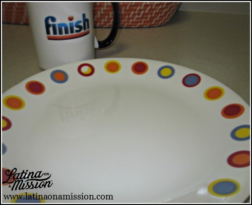 Finish Cleaned Plate | Latina On a Mission