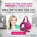 POPSUGAR Fitness Giveaway | Latina On a Mission