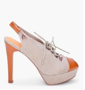 Tuesday Shoesday: Diesal Cement Lacy Trek Heel Thumbnail