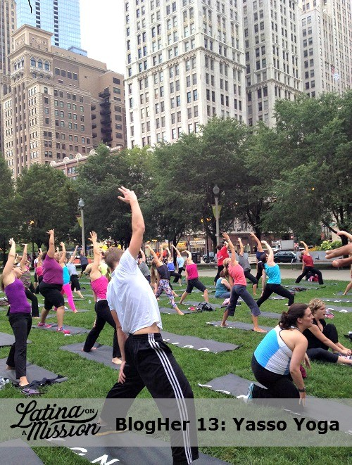 BlogHer Yossa Yoga Event | Latina On a Mission