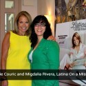 Katie Couric and Migdalia Rivera, Latina On a Mission