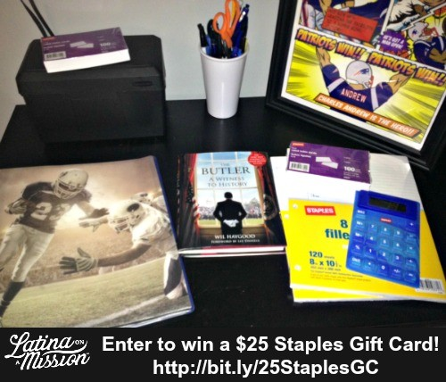 $25 Staples Giveaway | Latina On a Mission