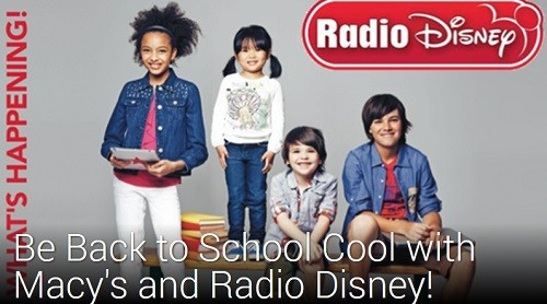 Back to School w. Radio Disney | Latina On a Mission