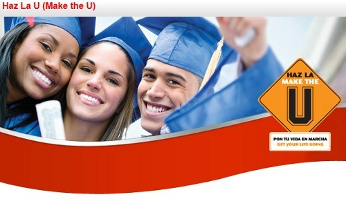 "Colgate-Palmolive's scholarship program, ""Haz La U"" (""Make the U"")"