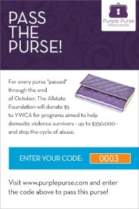 #PurplePurse AllState Foundation | Latina On a Mission