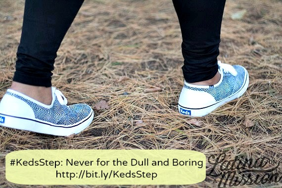 #KedsStep Black and White Patterned Keds | Latina On a Mission
