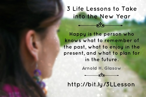 Life, Life Lessons, New Year