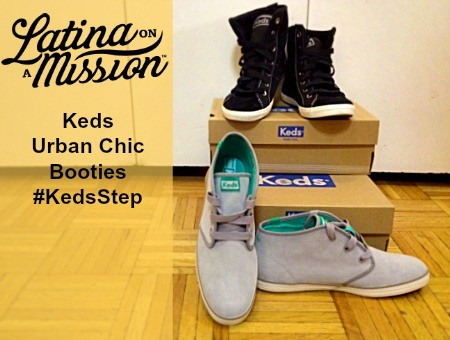 Keds Urban Chic Booties #KedsStep