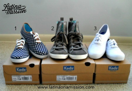 Keds Sneakers #KedsStep | Latina On a Mission