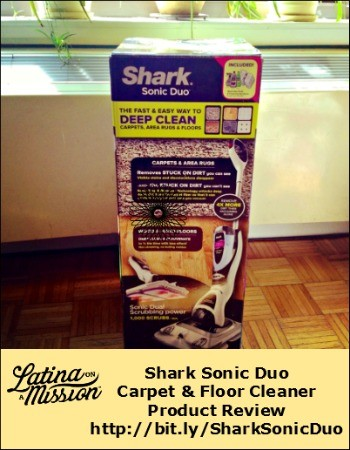 Shark Sonic Duo Product Review | Latina On a Mission
