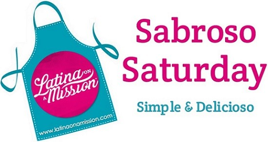 Sabroso Saturday Logo | LatinaOnaMission.com