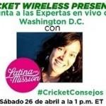 Cricket Ambassador YouTube Event   Latina On a Mission