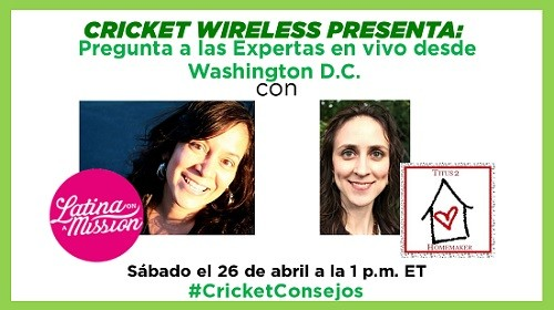 Cricket Ambassador YouTube Event | Latina On a Mission