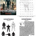 Captain America Activity Sheets | Latina On a Mission