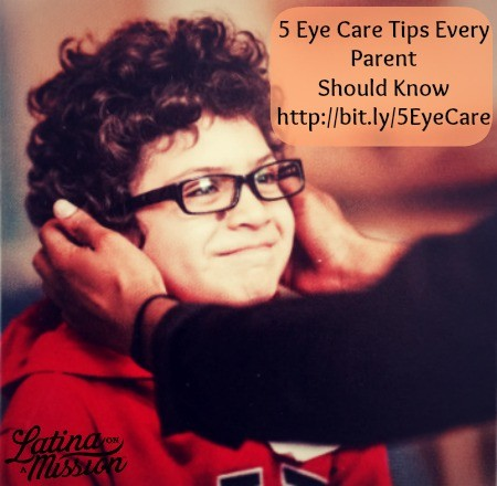 5 Eye Care Tip for Kids   latinaonamission.com