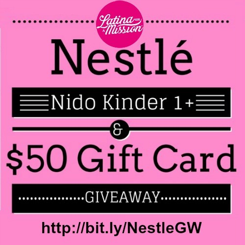 Nestle Nido Giveaway | Latina On a Mission