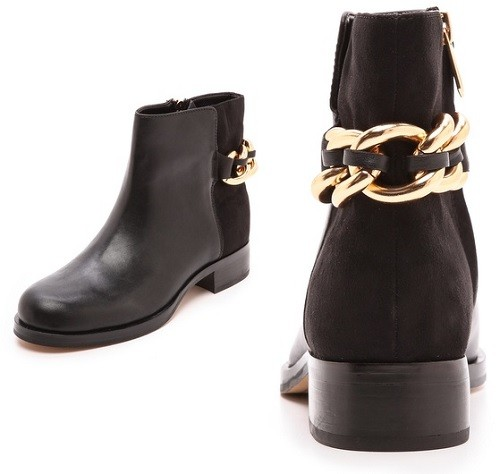 db46bee4c03893 Tuesday Shoesday  Sam Edelman Chester Chain Booties – Latina on a ...