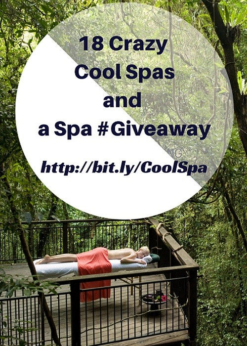 18 Crazy Cool Spa Offerings + Spa Giveaway | Latina On a Mission