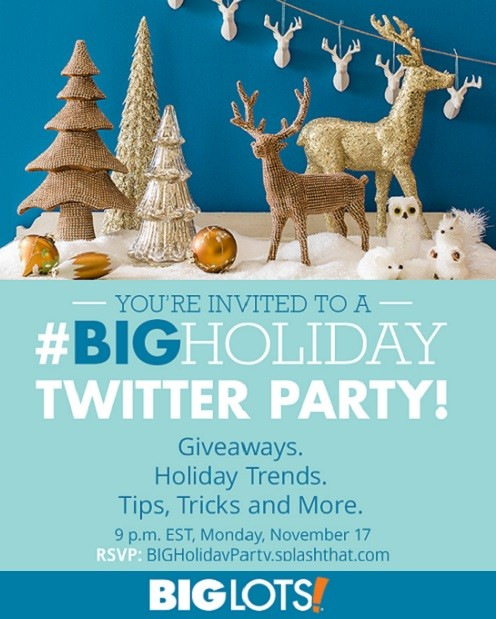 @BigLots #BIGHoliday Twitter Party & Selfie Sweepstakes! #Ad Thumbnail