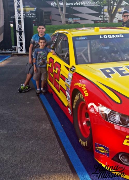 NASCAR Ford EcoBoost 300 |Latina On a Mission
