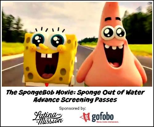 The SpongeBob Movie: Sponge Out of Water Advance Screening Passes Thumbnail