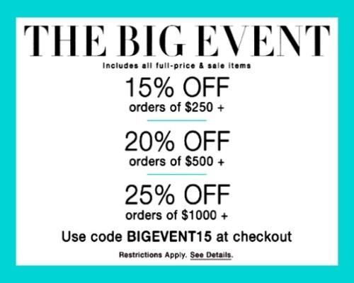 ShopBop Big Event | LatinaOnaMission.com