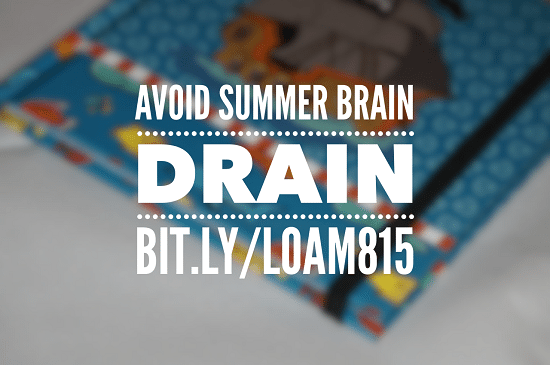 Avoid Summer Brain Drain | LatinaOnaMission.com