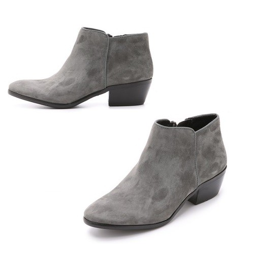 Sam Edelman Petty Suede Booties | Latina On a Mission