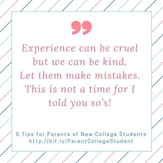 5 Tips for Parents of New College Students | Latina On a Mission, Migdalia Rivera