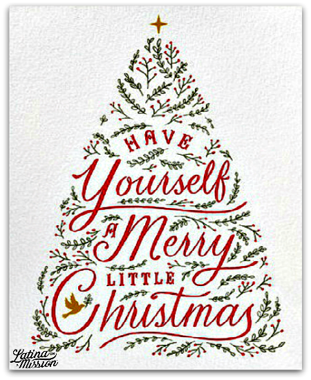 paperlesspostcom merry christmas card nyc blogger - Beautiful Christmas Cards