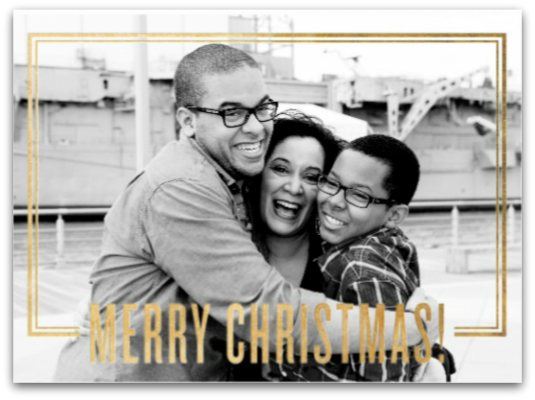 Paperless Post Christmas Card | Latina Blogger and New York Blogger