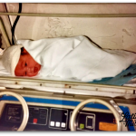 Newborn Baby in Hospital | Latina On a MIssion