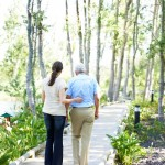 Going for a forest walk with his daughter | Latina On a Mission