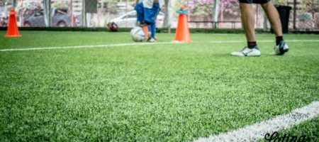 Shown: Indoor Soccer training field for kids